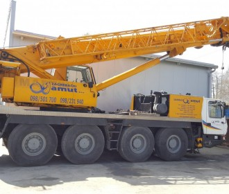 Truck-Mounted Crane 80t Grove 4075